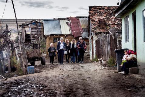 Delegation från Uppsala hos romer i Rumänien, UNT 2016.