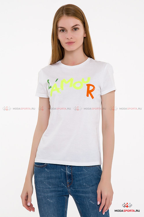 ESCADA SPORT White Cotton T-shirt 5030196