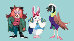 fashion animals