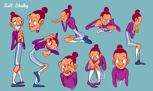 Olive character Sheet