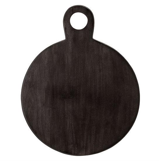 Round Black Cutting Board