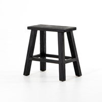 Holly Accent Stool - Black