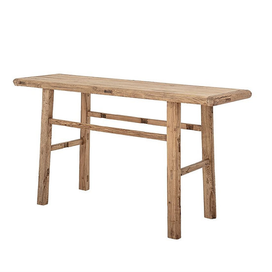 Reclaimed Elm Wood Console