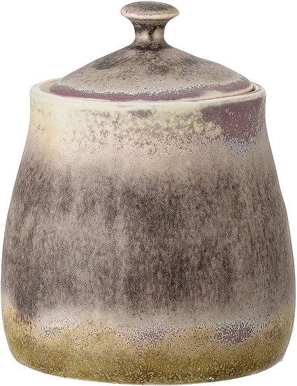 Green/Purple Jar with Lid