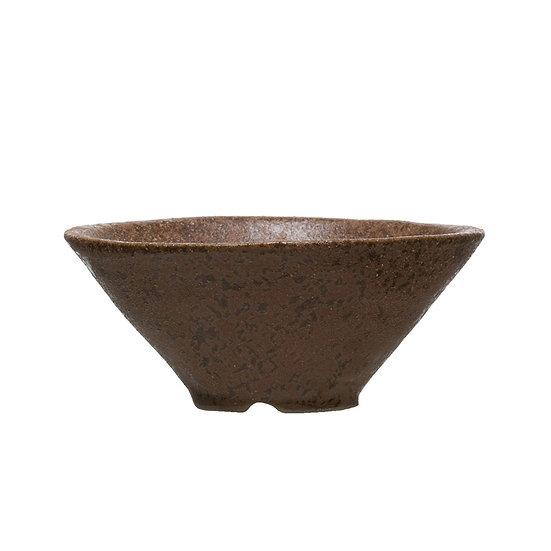 Round Stoneware Bowl