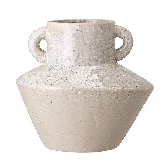 Stoneware Vase w/ Handles