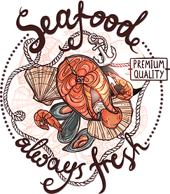 Морепродукты Запорожье Логотип