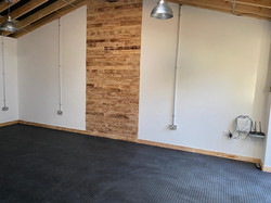 Converted garage to recreation room