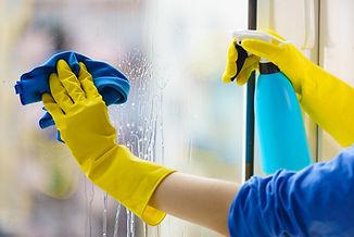 Fenster waschen