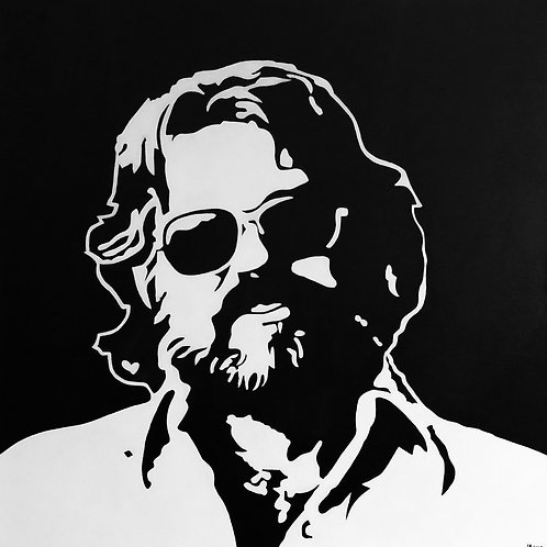 "Kenny Rogers, 30""x30"""
