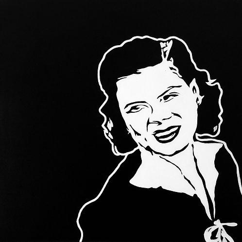 """Patsy Cline, 30""""x30"""""""