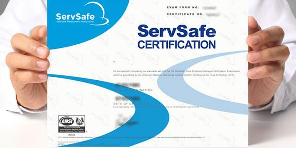 ServSafe Manager - Boston - Portuguese