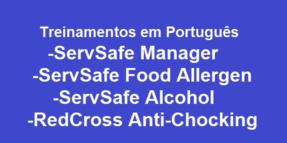 ServSafe em Português - Martha's Vineyard - MA
