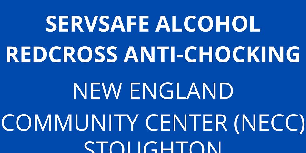 ServSafe Alcohol + RedCross Anti-Chocking em Portugues