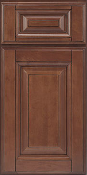 coffee color with glaze cabinet door