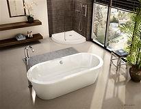 Fleurco freestanding tub-Tranquility Grande
