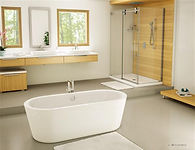 Fleurco freestanding tub-Adagio