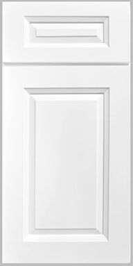 white birchood cabinet door