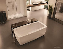 Fleurco freestanding tub-Serenade