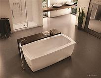 Fleurco freestanding tub-Serenade