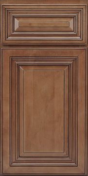 coffee color with glaze maple cabinet door