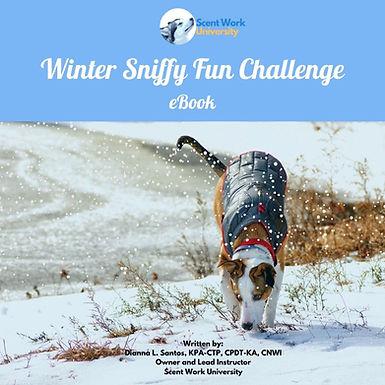 Winter Sniffy Fun Challenge eBook