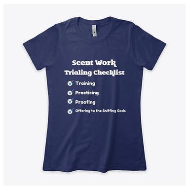 Scent Work Trialing Checklist