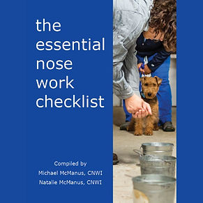 The Essential Nose Work Checklist