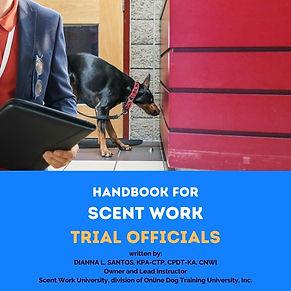 Handbook for Scent Work Trial Officials eBook