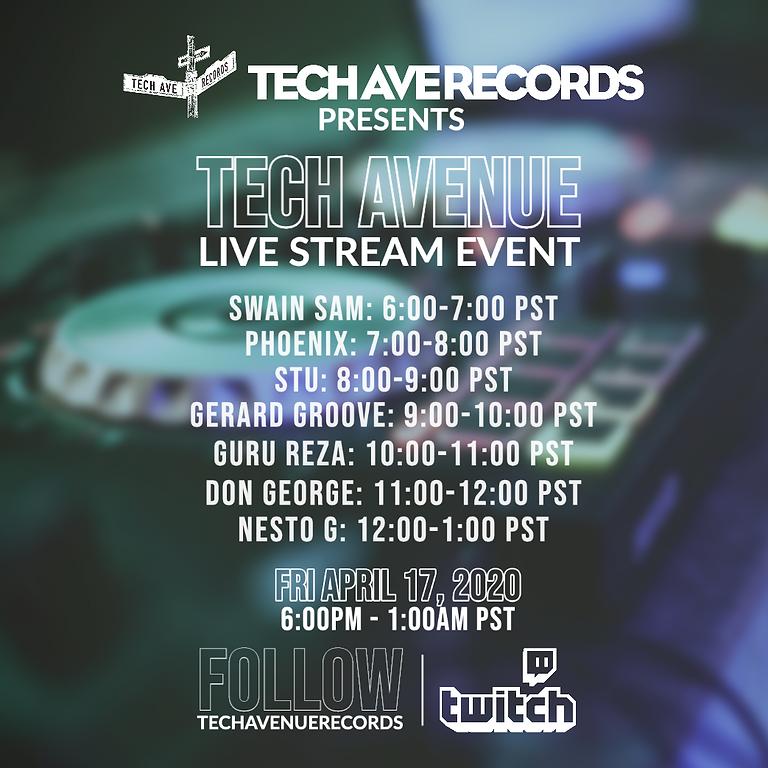 Tech Avenue Livestream Event