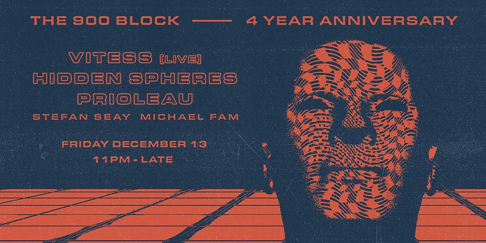 Michael Fam at the 4 Year Anniversary 900 Block