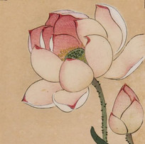 """Lotus and Rail"" by Ohara Koson (2 sessions)"