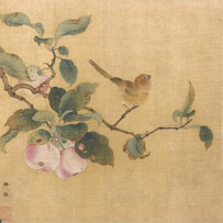 """""""Bird Attracted to Ripe Fruit"""" by Lin Chun (5 sessions)"""