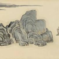"""Jie Shan"" series by Qi Baishi (2 sessions)"