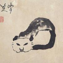 """Cat"" by Bada Shanren (2 sessions)"