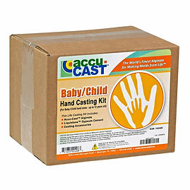 Accu Cast - Baby / Child Hand Casting Kit