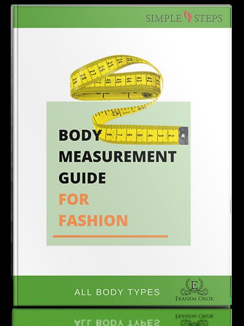 Body Measurement Guide For Fashion
