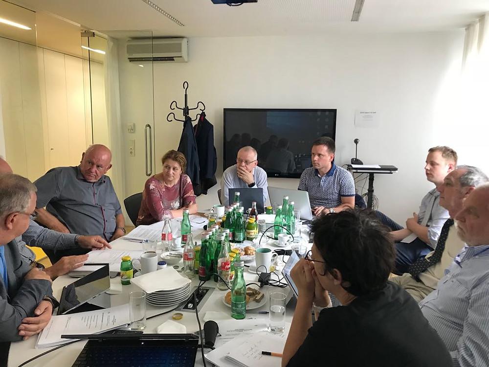 Pracovné stretnutie ECEC BIM WG, Viedeň