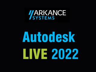 Konferencia Autodesk LIVE 2022