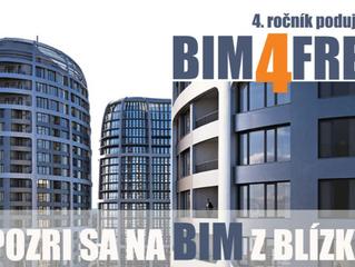 BIM4FREE - 4. ROČNÍK SÉRIE KRÁTKYCH PREDNÁŠOK O BIME