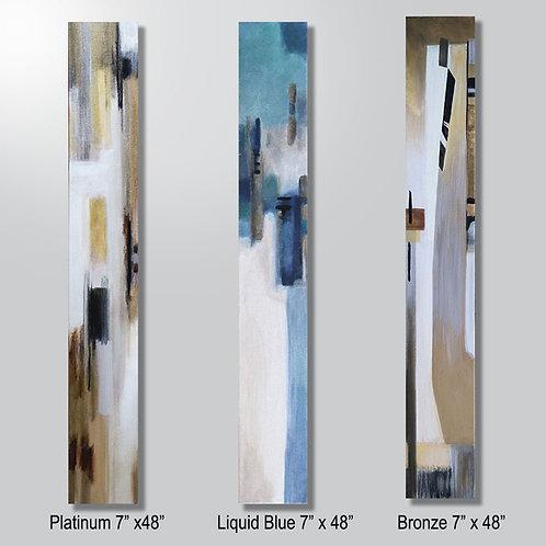 Platinum or Liquid Blue or Bronze sold individually