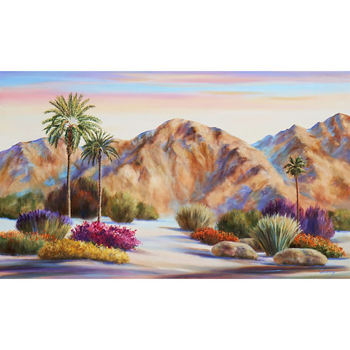 """Mountain Whispers              36"""" x 60"""" Oil on Canvas"""