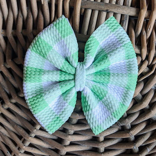 Light Green Gingham