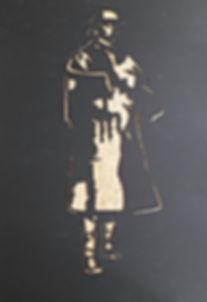 nous y somme emilie pillot frise ligthpainting stencil pochoir premiere guerre mondiale frise