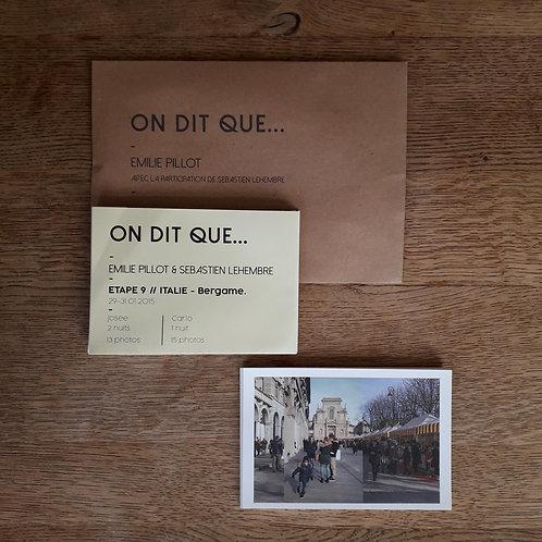 Coffret Revue dépliante & cartes postales