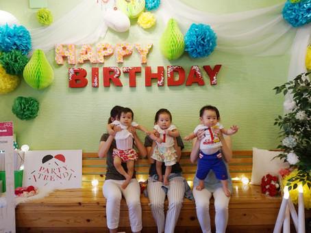 貸切で個室!加古川からママ友と赤ちゃんバースデイパーティー