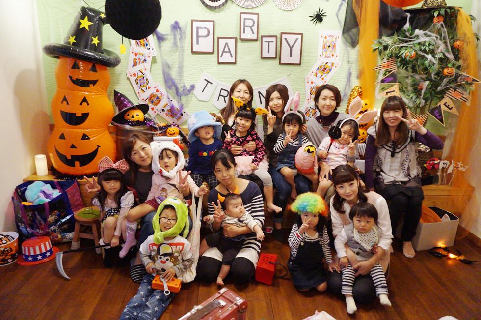 加古川で貸切パーティー!ママ友でママ会、プチハロウィン
