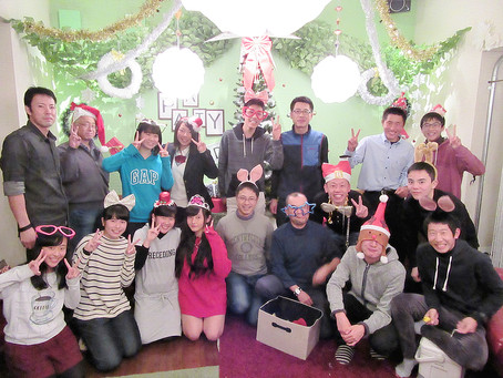 加古川で貸切勉強会の後、鍋パーティーでわいわい!!