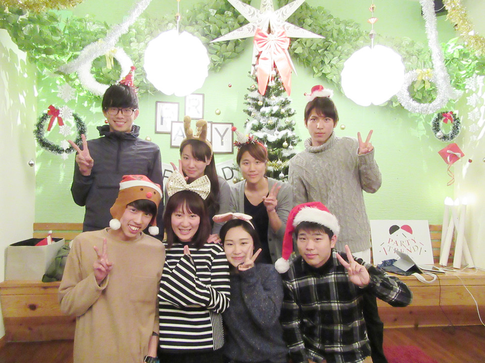 加古川で1日貸切り忘年会とクリスマスパーティー