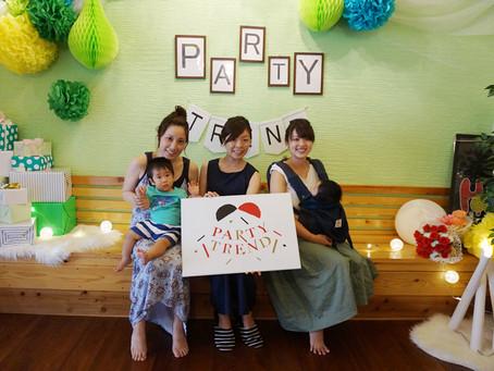 加古川と神戸からママ友の集まりでご来店!!